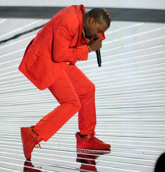 louis vuitton red kanye west