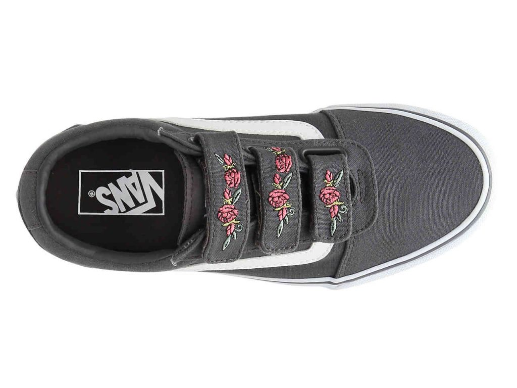 ward v sneaker vans top view